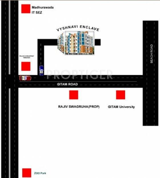 Images for Location Plan of Ajantha Vyshnavi Enclave