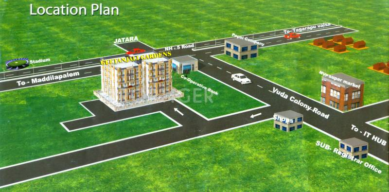 Images for Location Plan of KR Geethanjali Gardens