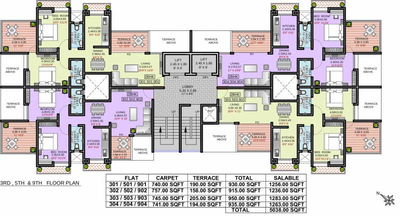 Images for Cluster Plan of Deron Bhushanam
