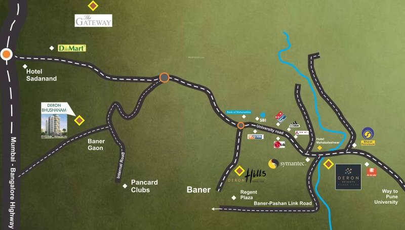 Images for Location Plan of Deron Bhushanam