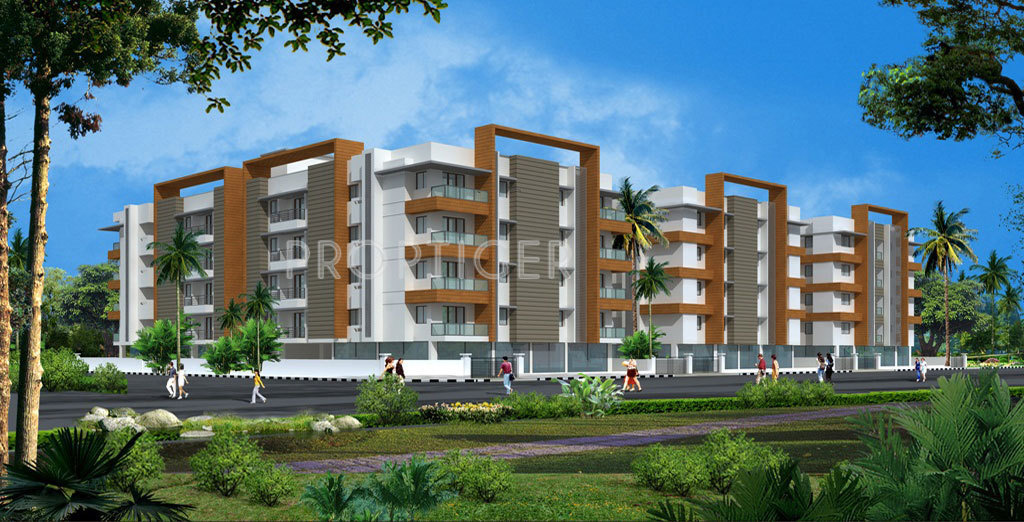 Wood Elevation Network : Sebco green woods apartment in kk nagar trichy price