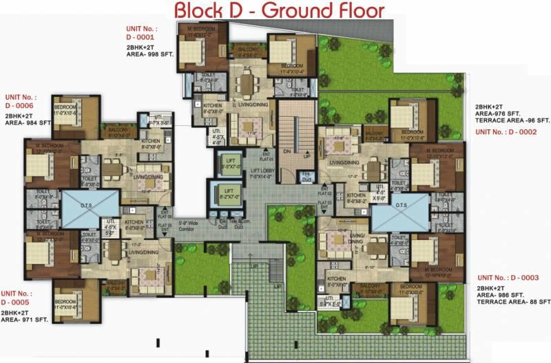Images for Cluster Plan of Unishire Elan