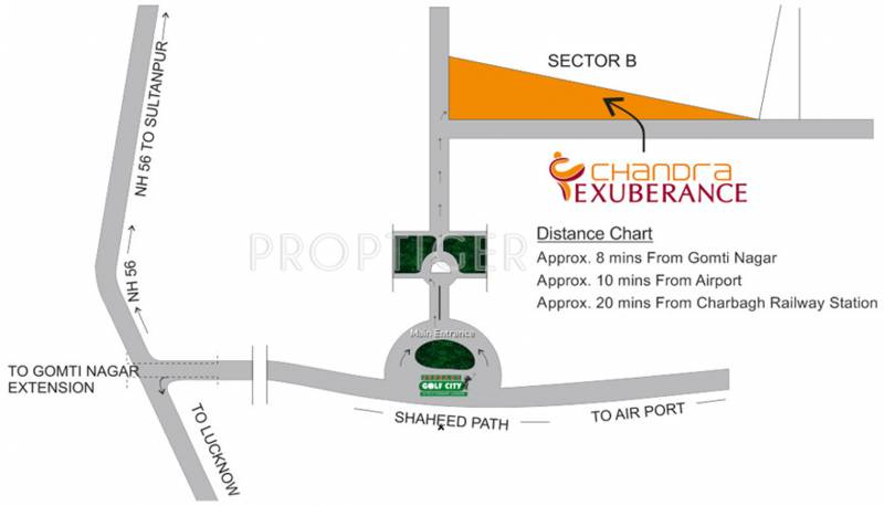 Images for Location Plan of Chandra Exuberance