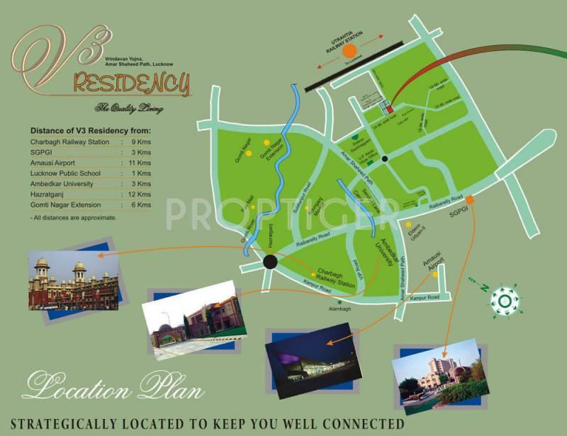 v3-residency Images for Location Plan of Amazing V3 Residency