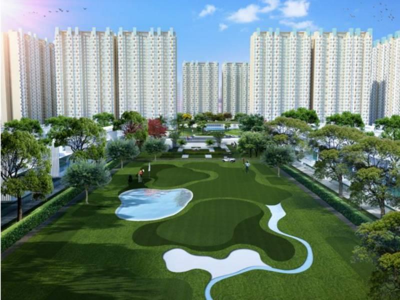 Main Elevation Image 2 of Ajnara Khel Gaon, Unit available at