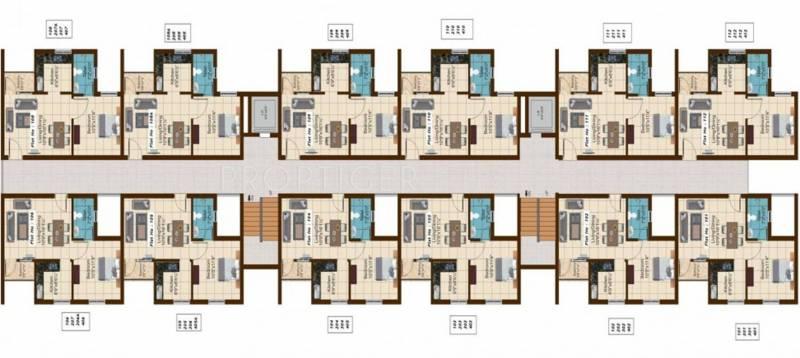 Images for Cluster Plan of Shriram Shreshta Apartments