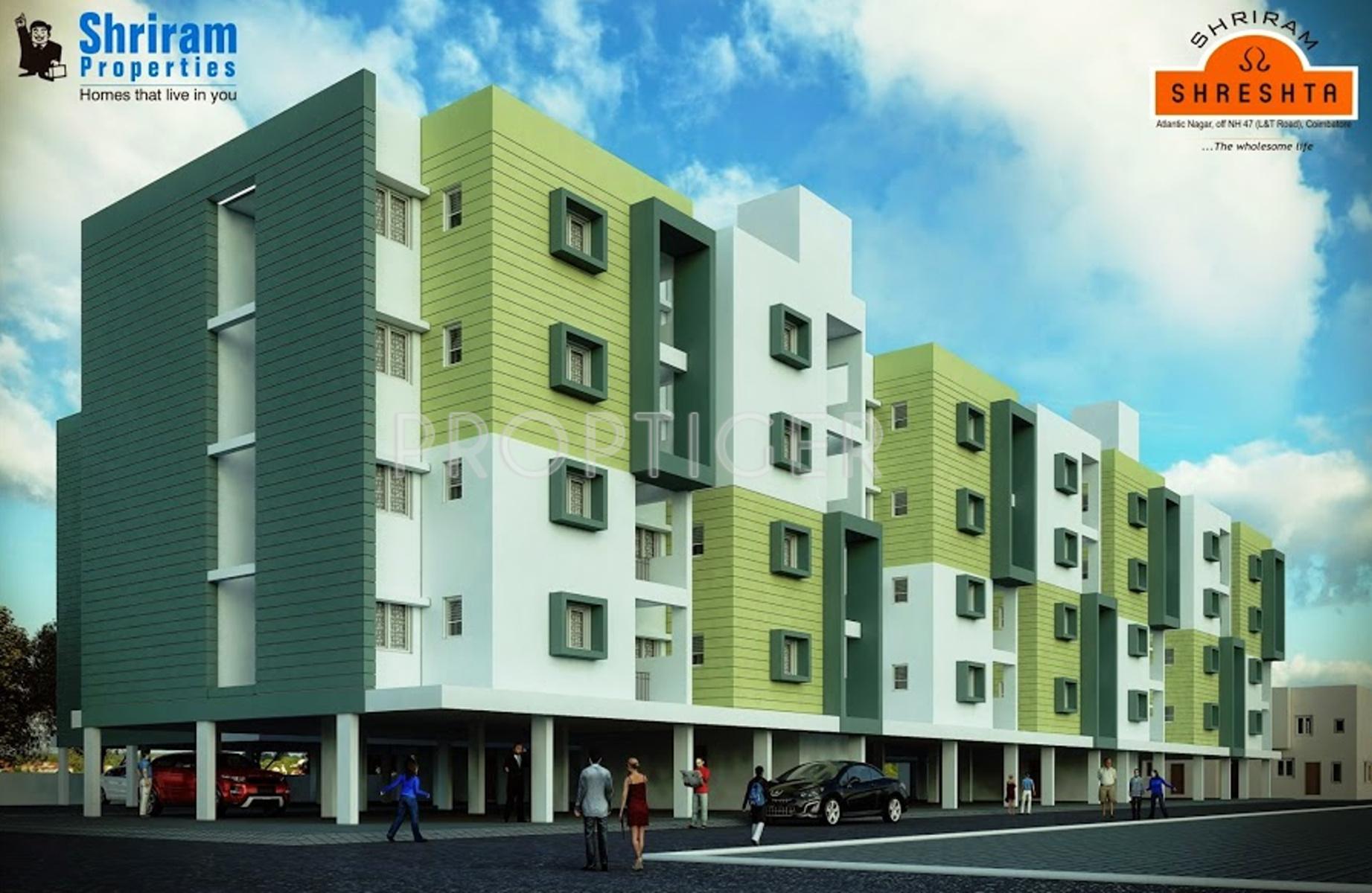 Main Elevation Image 3 Of Shriram Properties Shreshta