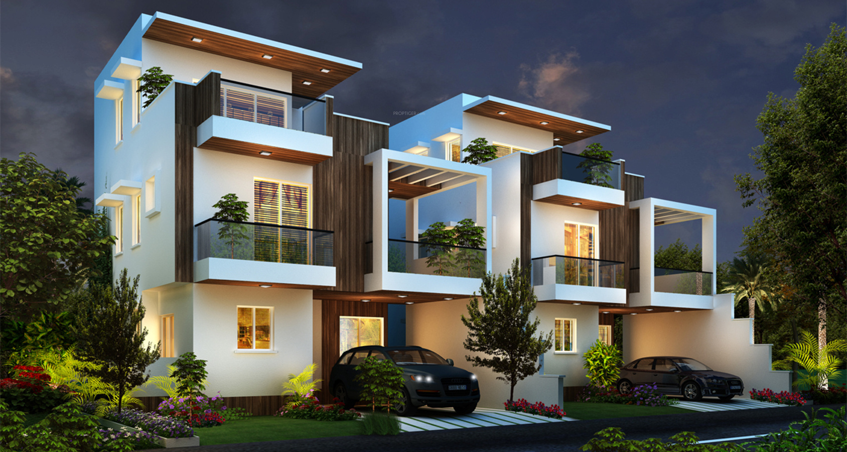 2174 sq ft 4 bhk 4t villa for sale in js homes lake mist for 4 bhk villas in bangalore