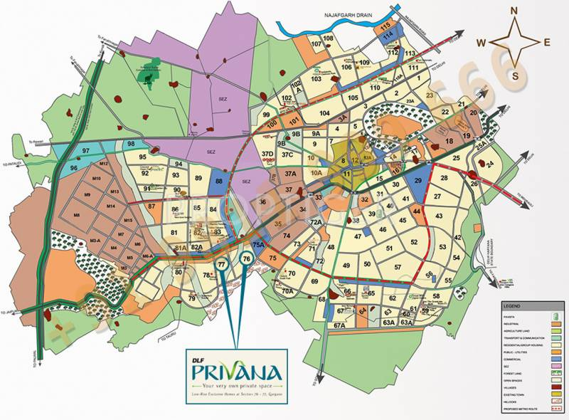 Images for Location Plan of DLF Privana