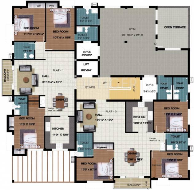 Images for Cluster Plan of Silpi Ashraya