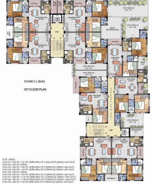 Images for Cluster Plan of Mayfair Platinum