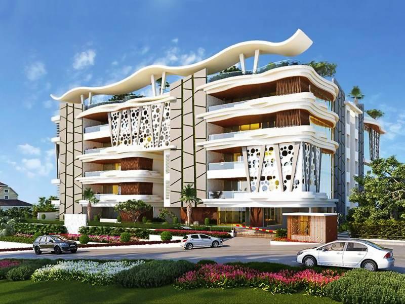 Image Of Swimming Pool Of Gar Real Estate Developers Amali Banjara Hills Hyderabad