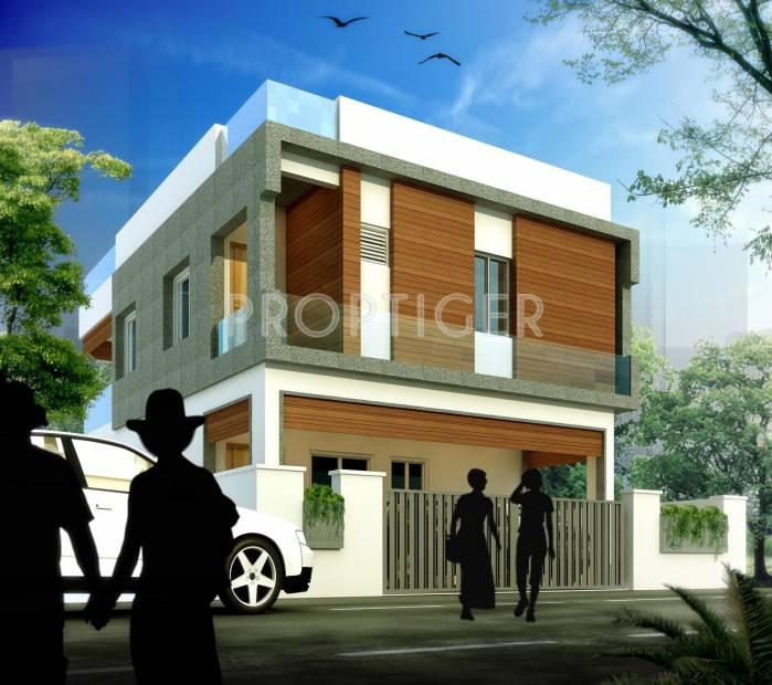 lakshmi-elite-villas Images for Elevation of SRJ Lakshmi Elite Villas