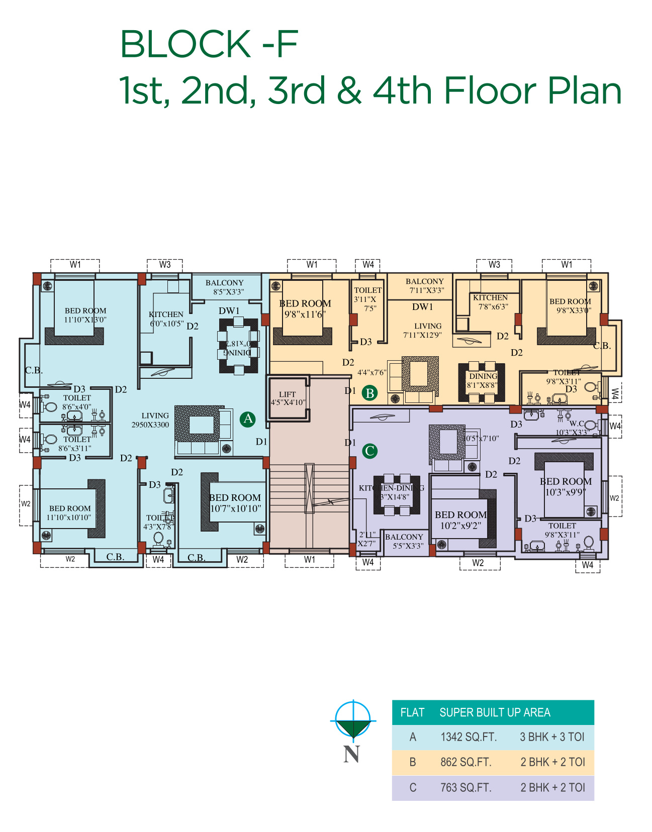 459 sq ft 1 BHK 1T Apartment for Sale in Eden Group Belvedere