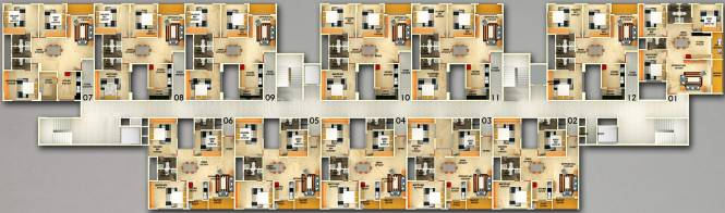 Images for Cluster Plan of DS DSMAX SKYCITY