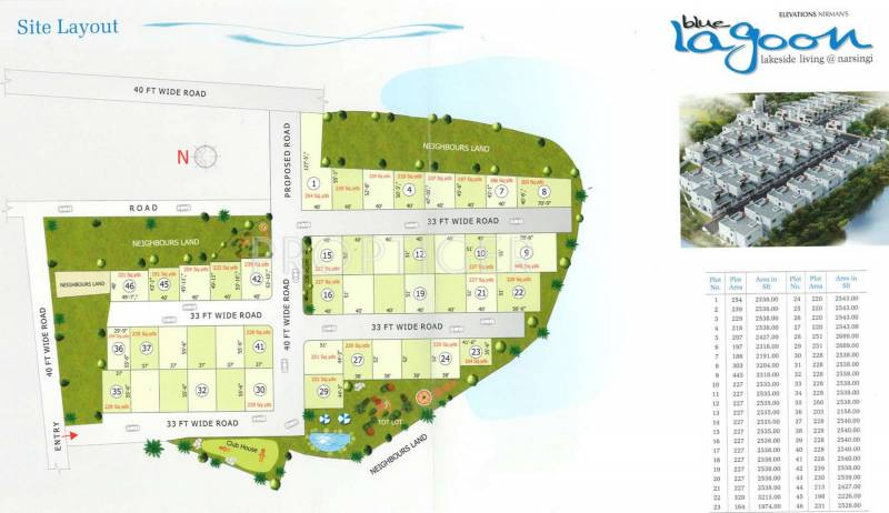 Images for Layout Plan of Adroit Blue Lagoon