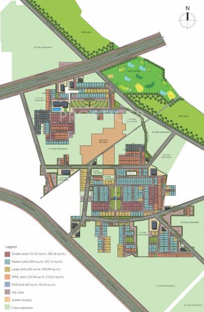aadri Images for Master Plan of Supertech Neeladri Floors