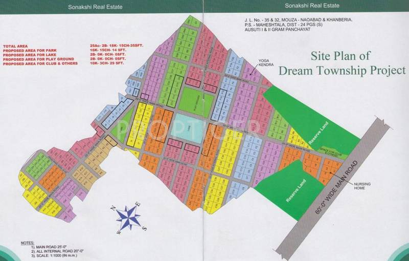 Images for Layout Plan of Sonakshi Riviera Township Project