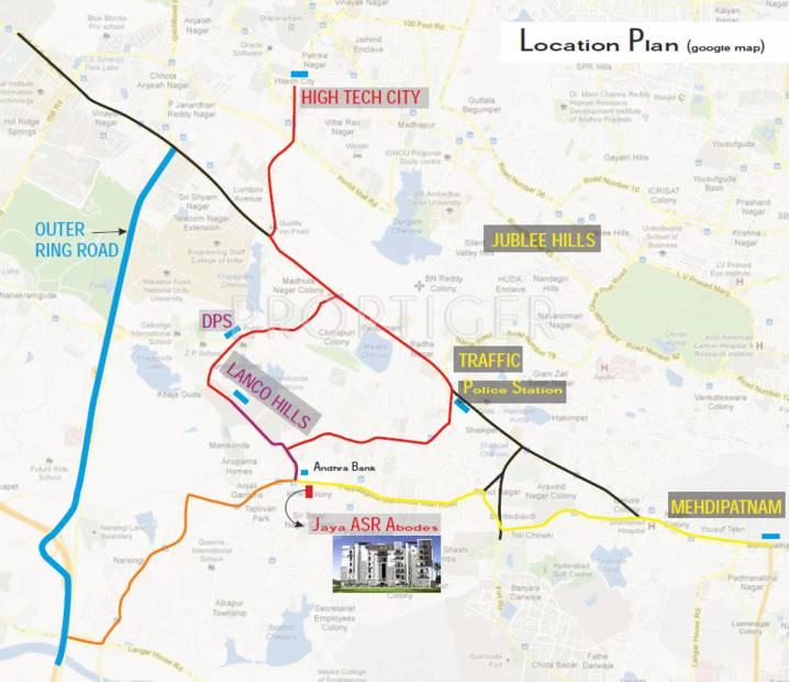 Images for Location Plan of ASR Jaya ASR Abodes