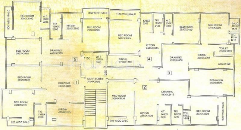 Images for Cluster Plan of Aatreyee Mrittika
