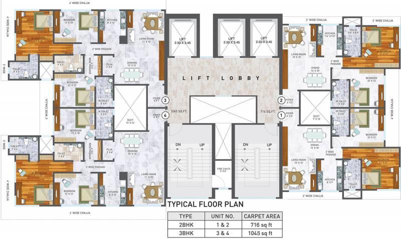 Images for Cluster Plan of Spenta Medius