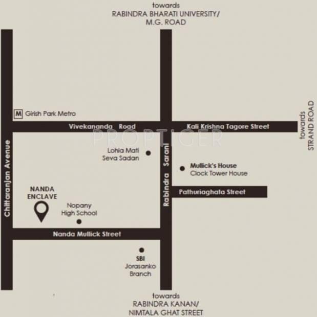 nanda-enclave Images for Location Plan of Isha Nanda Enclave