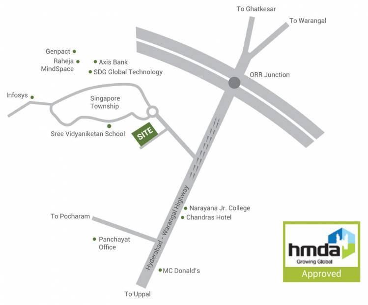 Images for Location Plan of Sai LR East Oak