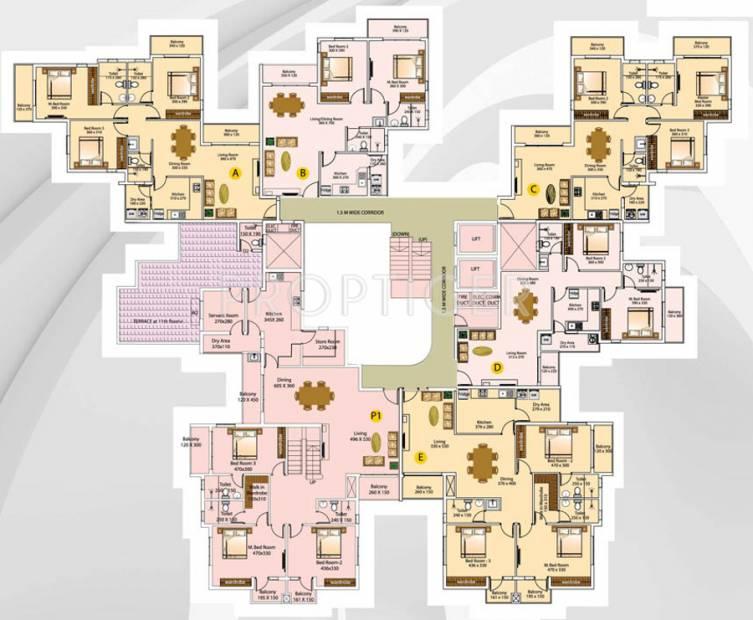 Images for Cluster Plan of Olive Celestina