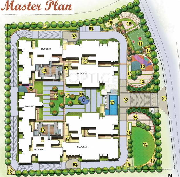 Images for Master Plan of Brigade Mountain View