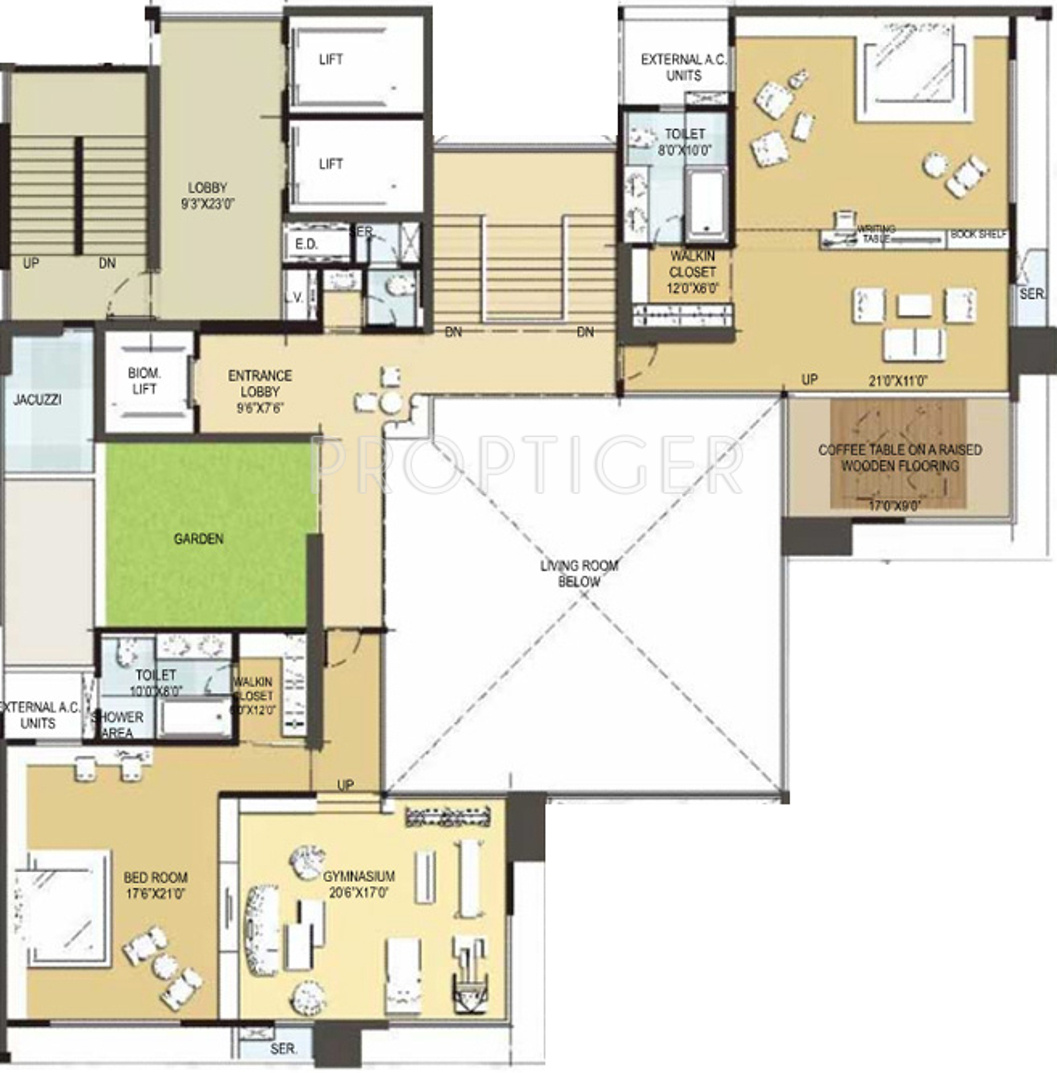 6500 sq ft 4 bhk 6t apartment for sale in national vivant for 6500 square foot house plans