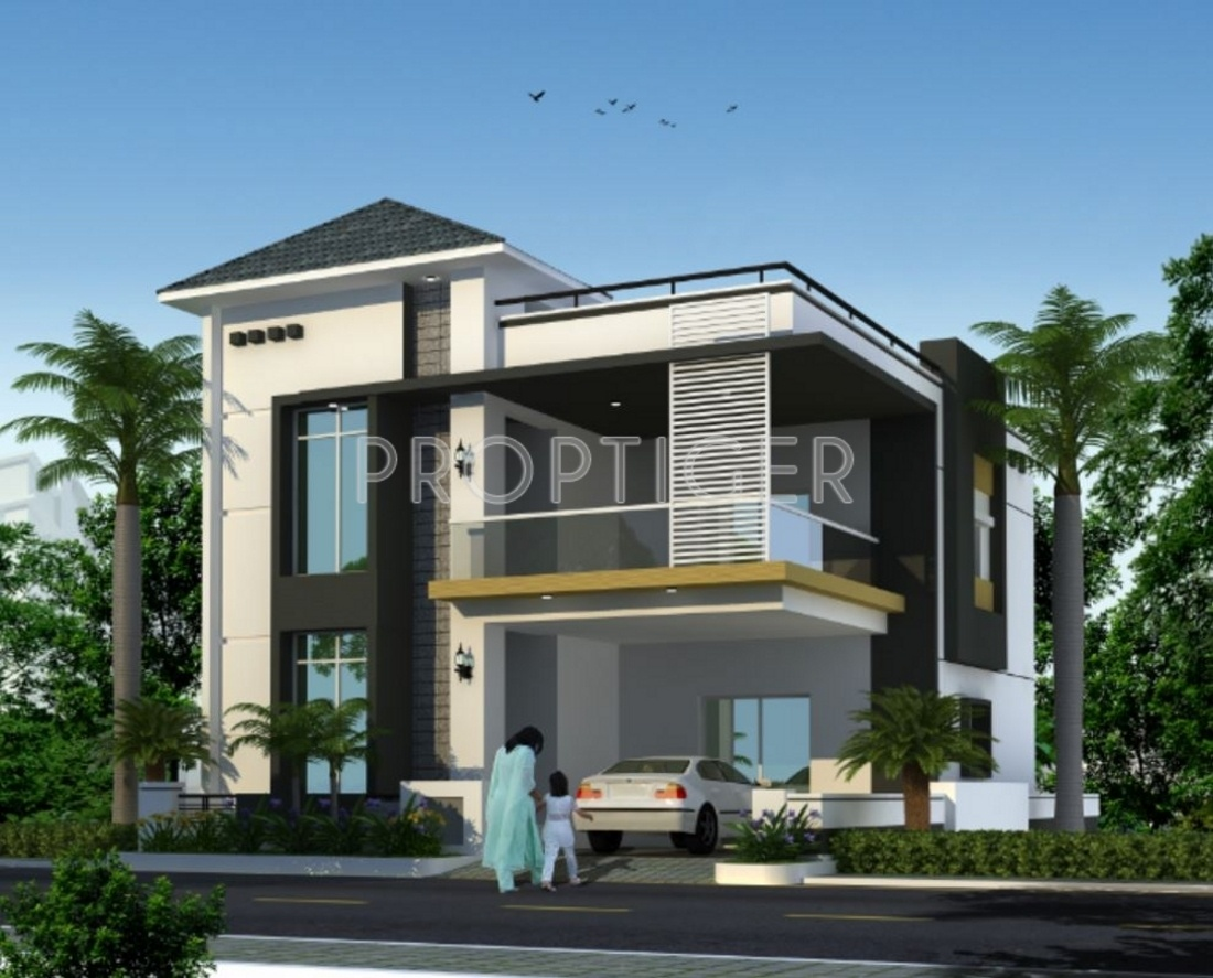 Floor Front Elevation Jersey : Prekon constructions mjs lake front in miyapur hyderabad