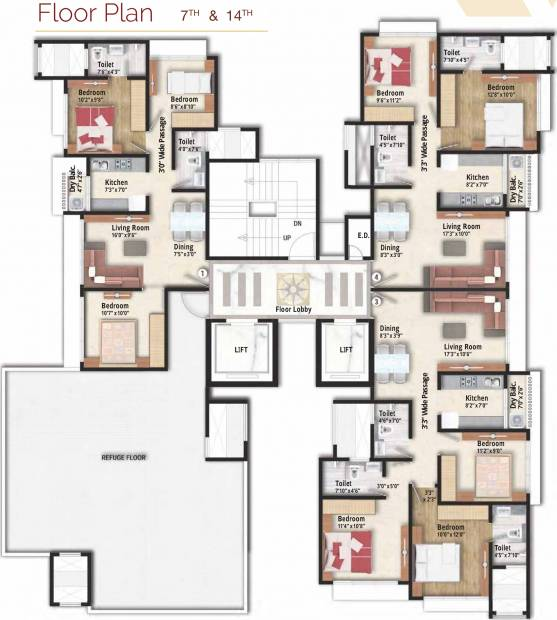 Images for Cluster Plan of Arkade Adornia