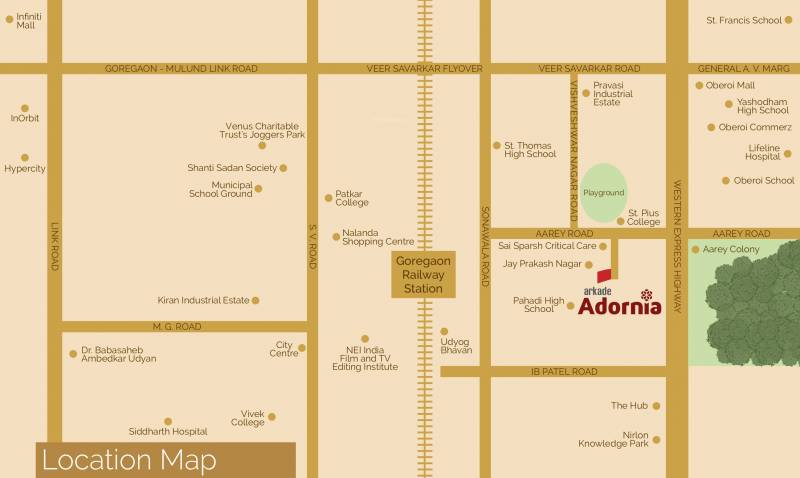 Images for Location Plan of Arkade Adornia