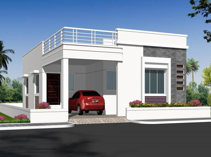 Images for Elevation of Ajasra Homes Akash Vihar Villa