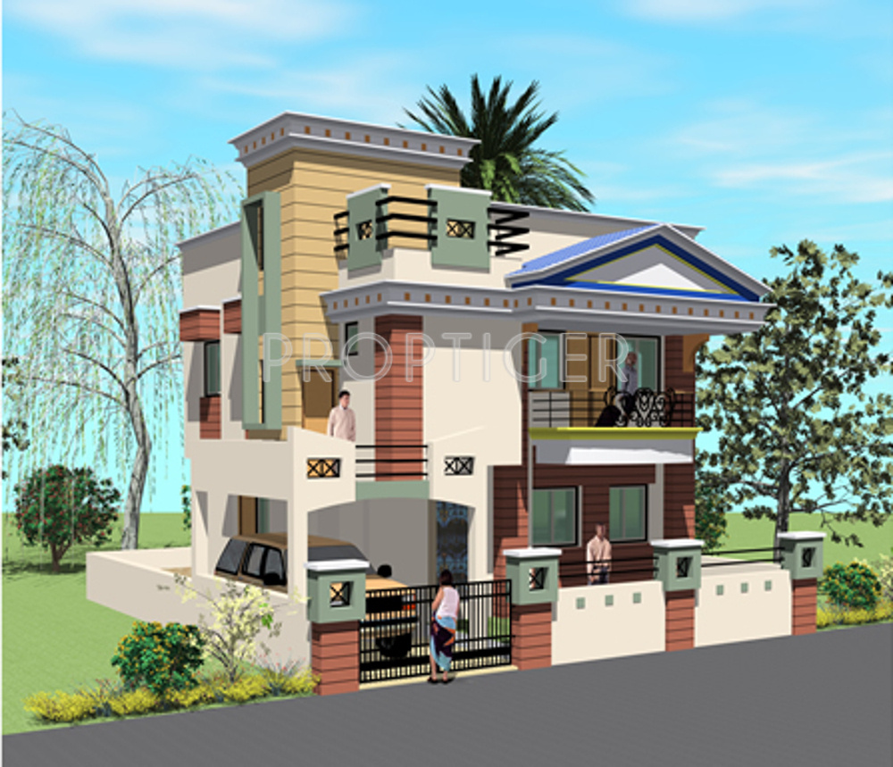 Design Of Compound Wall Of Bungalow : Image of location map sb patel infrastructure vaibhav