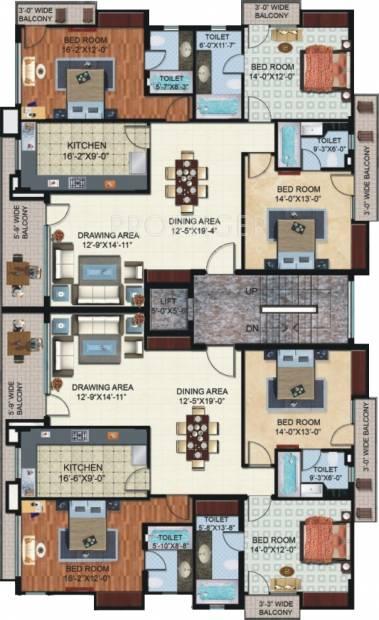 Images for Cluster Plan of Shalimar Nest