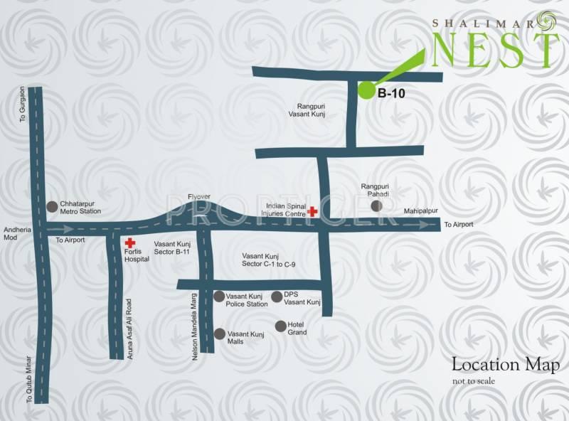 Images for Location Plan of Shalimar Nest