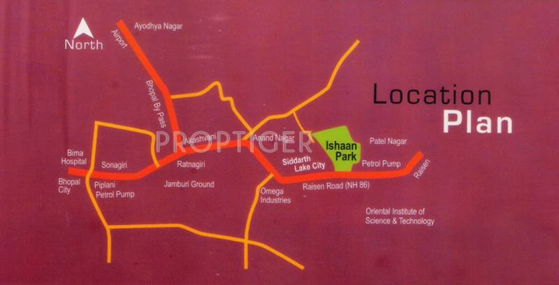 Images for Location Plan of Ishaan Builders and Developer Park