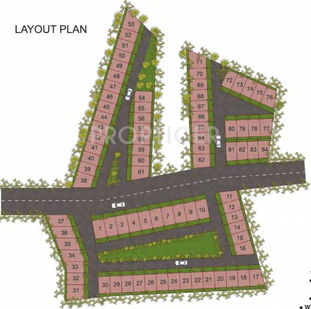 Images for Layout Plan of SDC Swadesh Developers and Colonizers Red Square