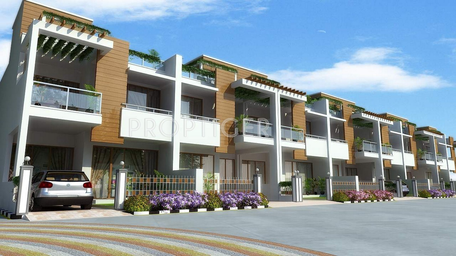 2400 sq ft 4 bhk 4t villa for sale in agrawal builders for Villa builders