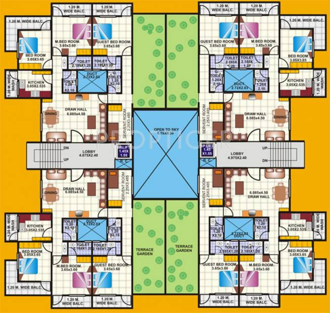 Images for Cluster Plan of Amrapali Nagpur Apartment