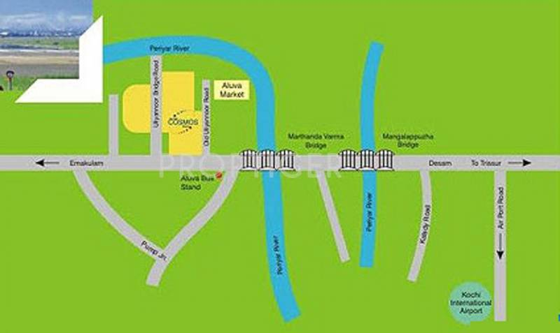 Images for Location Plan of Amrapali Cosmos