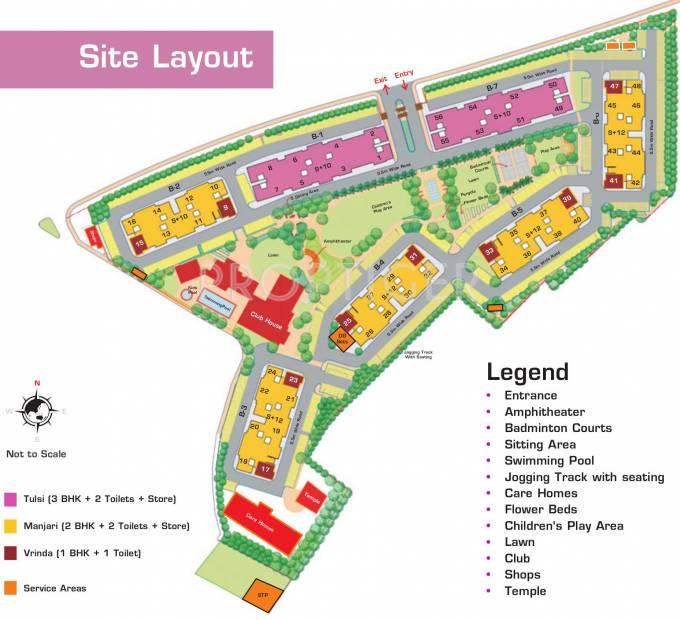 nirmay Images for Layout Plan of Ashiana Nirmay