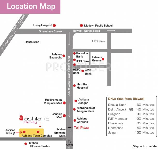 nirmay Images for Location Plan of Ashiana Nirmay