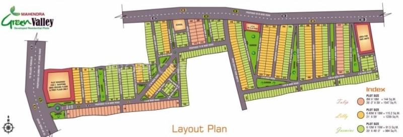 Images for Layout Plan of Mahendra Green Valley