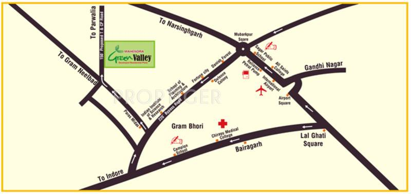 Images for Location Plan of Mahendra Green Valley