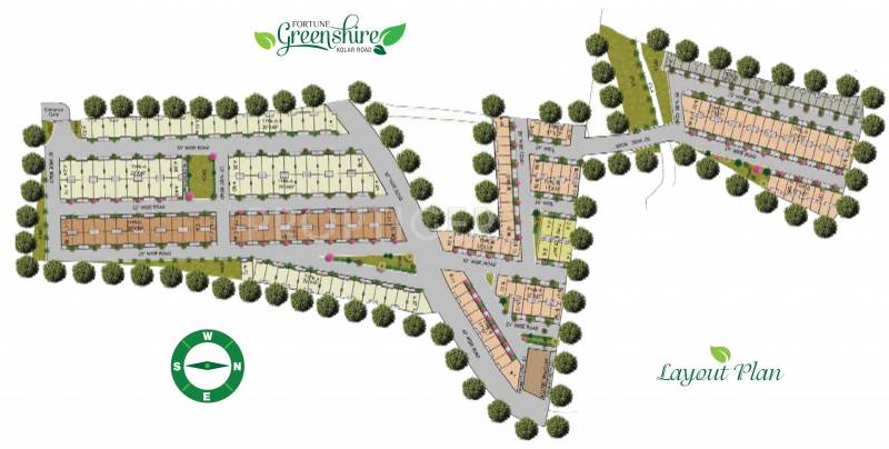 Images for Layout Plan of Fortune Greenshire