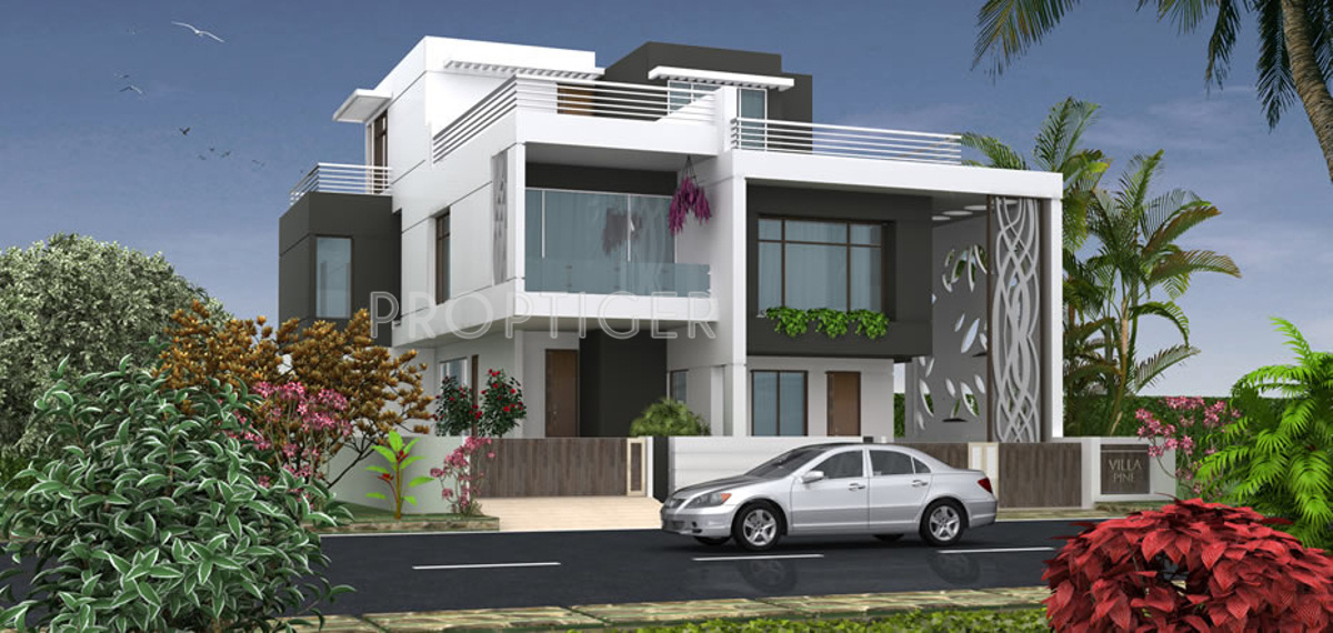 One Floor Villa Elevation : Sq ft bhk t villa for sale in apollo creations