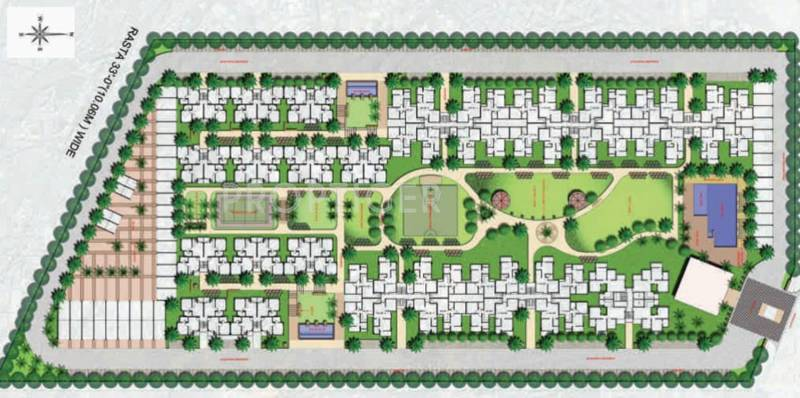 Images for Site Plan of Perfect Zara Aavaas
