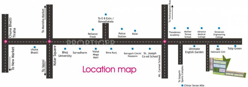 Images for Location Plan of Rai Homes Universal Pink City